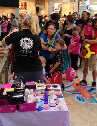 Face Painters and Balloon Artists