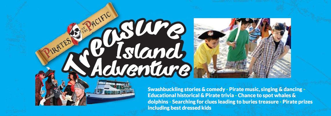 Treasure Island Adventure Pirate Party Cruise Tauranga Prime Productions