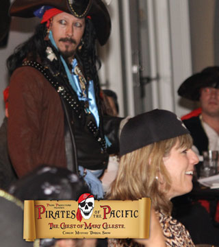 Mystery Dinner Show - Pirates of the Pacific