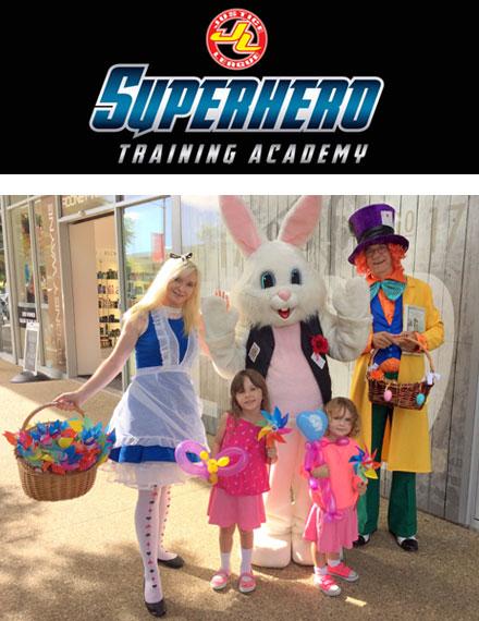 super hero childrens entertainment